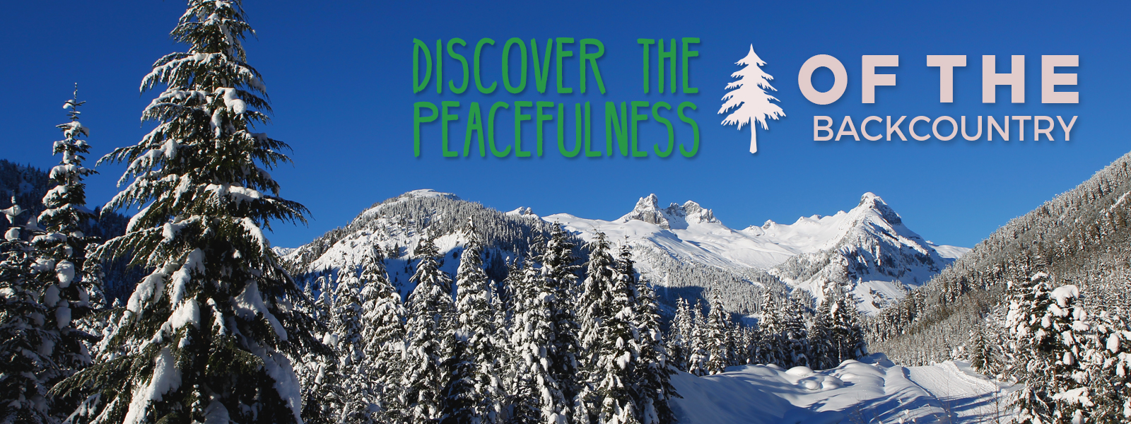 Discover the peacefulness of the backcountry